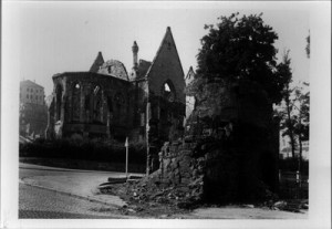 The ruins of St. Catherine's - 1945