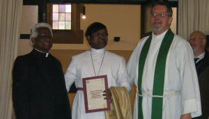 Rev.d M Naidu, Rt. Rev'd S Prakash, Rev'd K Dimmick