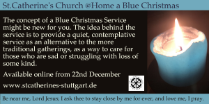 Blue Christmas Flier